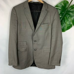 Hugo Boss Silk Wool Tan Blazer Sports Coat 42L